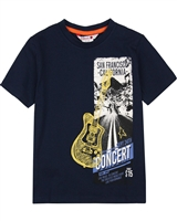 Boboli Boys T-shirt with Concert Graphic