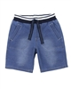 Boboli Boys Terry Shorts in Denim Look