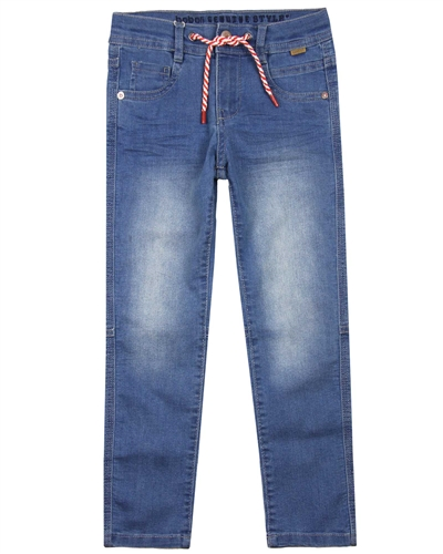 Boboli Boys Stretch Bleach Denim Pants