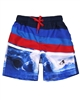 Boboli Boys Swim-shorts in Stripe and Ocean Print