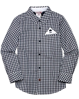 Boboli Boys Poplin Check Shirt