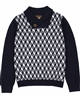 Boboli Boys Knit Pullover with Shawl Collar