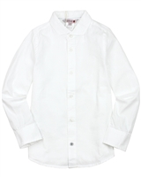 Boboli Boys Dress Shirt in White