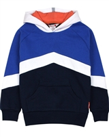 Boboli Boys Hoodie with Diagonal Stripe