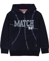 Boboli Boys Hoodie in Denim Look