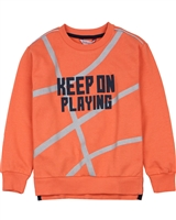 Boboli Boys Sweatshirt with Ball Print