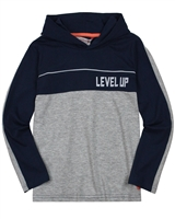 Boboli Boys Two Colour-way Hooded T-shirt