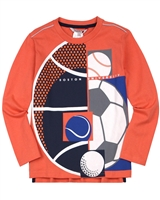 Boboli Boys T-shirt with Ball Print