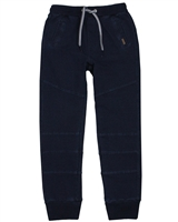 Boboli Boys Sweatpants in Denim Look