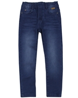 Boboli Boys Stretch Denim Pants in Blue