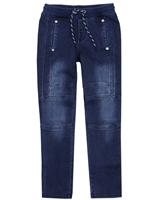 Boboli Boys Jogg Jeans  with Stitches in Blue