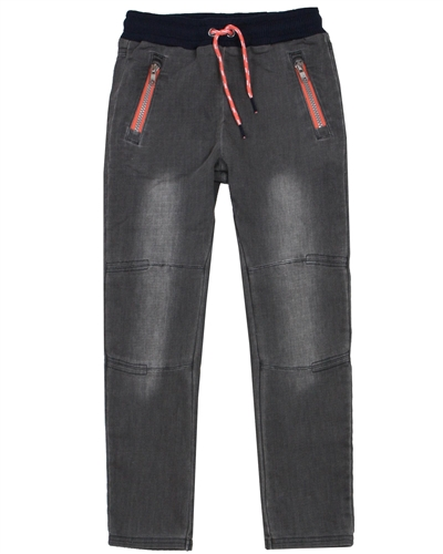Boboli Boys Jogg Jeans with Stitched Knees