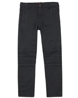 Boboli Boys Twill Pants with Stitched Knees