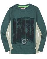 Boboli Boys T-shirt with Forest Print