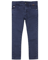 Boboli Boys Slim Fit Jogg Jean Pants with Washed Effect