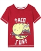 Boboli Boys T-shirt with Cool Taco Surf Print