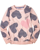 Boboli Sweatshirt in Heart Print