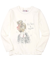 Boboli T-shirt with Girl Print