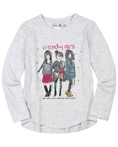 Boboli T-shirt with Girls Print