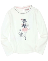 Boboli T-shirt with Fancy Girls Print