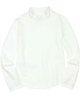 Boboli Turtleneck Embellished with Crystals