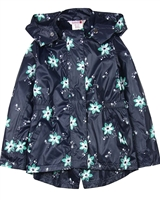 Boboli Girls Windbreaker Jacket in Floral Print