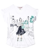 Boboli Girls T-shirt with Girl Print