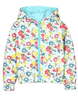 Boboli Girls Reversible Windbreaker Jacket