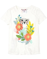 Boboli Girls T-shirt with Cheetah Print