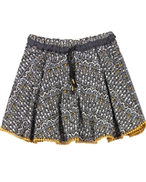 Boboli Girls Mandala Print Skirt