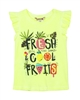 Boboli Girls T-shirt with Fruit Print