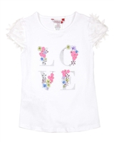 Boboli Girls T-shirt with Embellishment