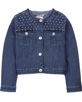Boboli Girls Embellished Denim Jacket