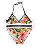 Boboli Girls Bikini in Tropical Flowers Print