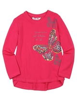 Boboli T-shirt with Butterfly Print