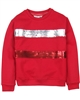 Boboli Sweatshirt with Sequin Stripes