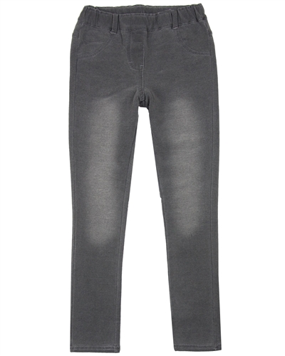 Boboli Terry Pants in Denim Look