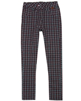 Boboli Plaid Fleece Pants