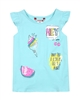 Boboli Girls Top with Shoulder Flounces