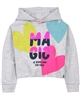 Boboli Girls Cropped Hooded Sweatshirt