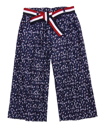 Boboli Girls Culotte Pants in Floral Print
