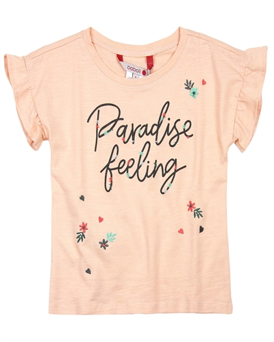 Boboli Girls T-shirt with Embroidery