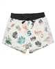 Boboli Girls Printed Terry Shorts