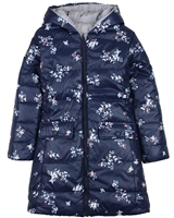 Boboli Reversible Coat in Floral Print