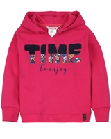 Boboli Girls Sweatshirt with Back Opening