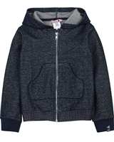 Boboli Girls Hooded Shiny Sweatshirt