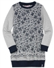 Boboli Girls Sweatshirt Dress in Floral Print