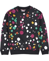 Boboli Girls Sweatshirt in Splash Print