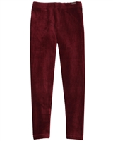Boboli Girls Velour Corduroy Leggings