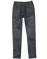Boboli Girls Pleather Coated Pants